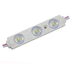Світлодіодний модуль AVT 5730 3 led 1,5W 10000K, 12В, IP65 холодний білий