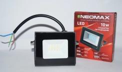 Светодиодный прожектор Neomax 10W SMD Slim 6000К 220V IP65. Фото 6