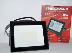 Світлодіодний прожектор Neomax 30W SMD Slim 6000К 220V IP65. Фото 2