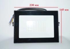 Светодиодный прожектор Neomax 50W SMD Slim 6000К 220V IP65. Фото 5
