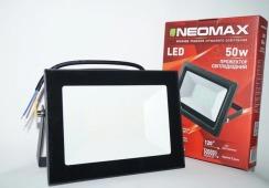 Светодиодный прожектор Neomax 50W SMD Slim 6000К 220V IP65. Фото 4