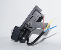 Светодиодный прожектор Neomax 10W с датчиком движения SMD Slim 6000К 220V IP65 - copy. Фото 2