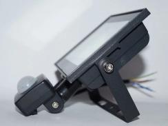 Світлодіодний прожектор Neomax 20W з датчиком руху SMD Slim 6000К 220V IP65. Фото 2