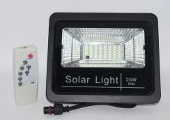Світлодіодний прожектор Neomax 25W з сонячною панеллю SMD Slim 6000К 220V IP65. Фото 2
