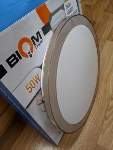 Світильник світлодіодний Biom SMART SML-R15-50 3000-6000K 50Вт з д/к . Фото 3