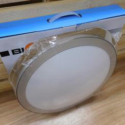 Світильник світлодіодний Biom SMART SML-R15-50 3000-6000K 50Вт з д/к . Фото 5