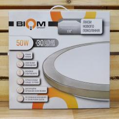 Світильник світлодіодний Biom SMART SML-R15-50 3000-6000K 50Вт з д/к . Фото 6
