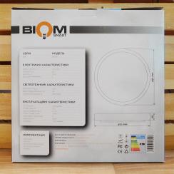 Светильник светодиодный Biom SMART SML-R15-80 3000-6000K 80Вт с д/у. Фото 6