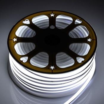 Світлодіодний неон Standart SMD 2835 120 led IP67 220V холодний білий
