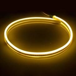 Світлодіодний LED гнучкий неон AVT Premium 2835/120 IP68 220V теплий білий. Фото 2