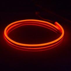 Світлодіодний неон Standart SMD 2835 120 led IP67 220V червоний
