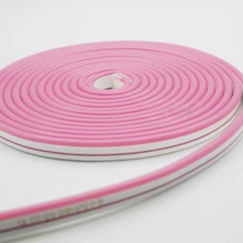 Світлодіодний неон Standart SMD 2835 120 led IP67 220V рожевий