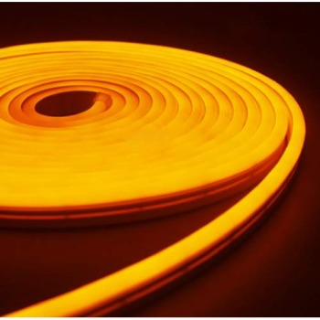 Светодиодный неон Standart SMD 2835 120 led IP67 220V желтый
