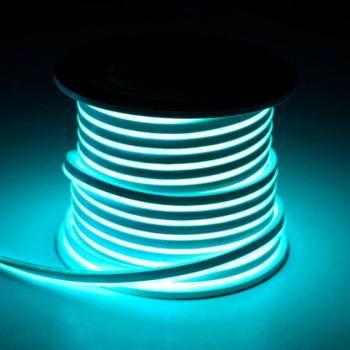 Світлодіодний неон Standart SMD 2835 120 led IP67 220V блакитний IB
