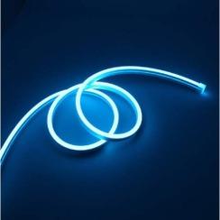 Світлодіодний неон Standart SMD 2835 120 led IP67 220V блакитний IB. Фото 2