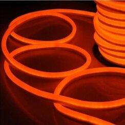 Светодиодный неон Standart SMD 2835 120 led IP67 220V оранжевый