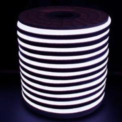 Світлодіодний LED гнучкий неон AVT Premium 2835/120 IP68 220V холодний білий. Фото 2