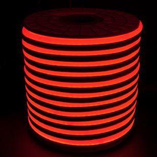 Светодиодный LED гибкий неон AVT Premium 2835/120 IP68 220V красный