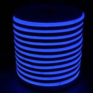 Світлодіодний LED гнучкий неон AVT Premium 2835/120 IP68 220V синій