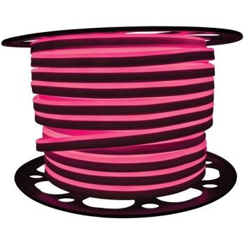 Світлодіодний LED гнучкий неон AVT Premium 2835/120 IP68 220V рожевий