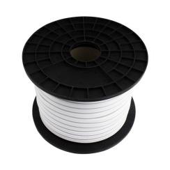 Светодиодный LED гибкий неон AVT Premium 2835/120 IP68 220V желтый. Фото 2