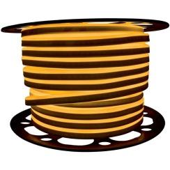 Светодиодный LED гибкий неон AVT Premium 2835/120 IP68 220V желтый