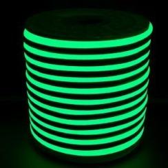 Світлодіодний LED гнучкий неон AVT Premium 2835/120 IP68 220V зелений