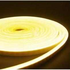 Світлодіодний неон AVT 6*12мм 120 2835 12В WW теплий білий. Фото 3