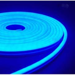 Светодиодный неон AVT 6*12мм 120 2835 12В B синий. Фото 2