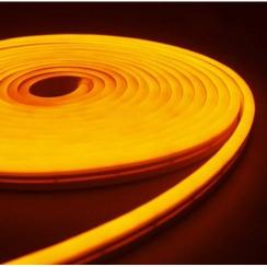 Світлодіодний неон AVT 6*12мм 120 2835 12В Y жовтий. Фото 2