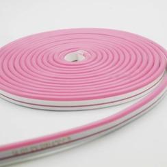 Світлодіодний неон AVT 6*12мм 120 2835 12В P рожевий