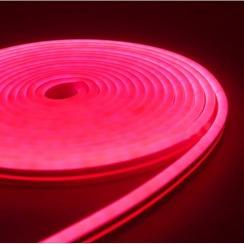 Світлодіодний неон AVT 6*12мм 120 2835 12В P рожевий. Фото 2