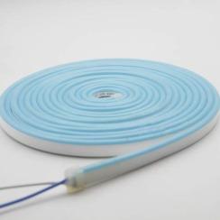 Светодиодный неон AVT 6*12мм 120 2835 12В IB голубой лед