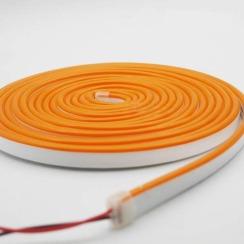 Светодиодный неон AVT 6*12мм 120 2835 12В O оранжевый