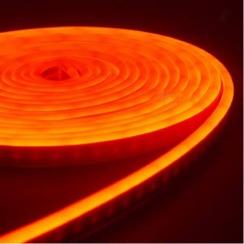 Светодиодный неон AVT 6*12мм 120 2835 12В O оранжевый. Фото 2