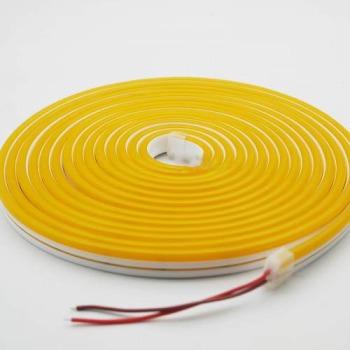 Світлодіодний неон AVT 6*12мм 120 2835 12В LY лимонно-жовтий