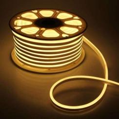 Светодиодный гибкий неон AVT 8*16мм 120 2835 12В NW нейтральный белый