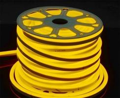 Светодиодный гибкий неон AVT 8*16мм 120 2835 12В Y желтый
