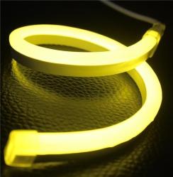 Светодиодный гибкий неон AVT 8*16мм 120 2835 12В LY лимонно-желтый . Фото 2