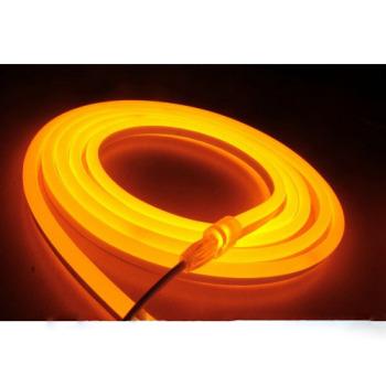 Світлодіодний гнучкий неон AVT 8*16мм 120 2835 12В O помаранчевий