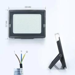 Світлодіодний прожектор Biom S5 150W SMD Slim 6200К 220V IP65. Фото 2
