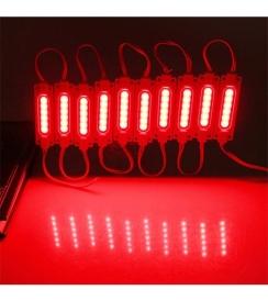 Світлодіодний модуль AVT COB 1 led 2W 12В, IP65 червоний. Фото 2