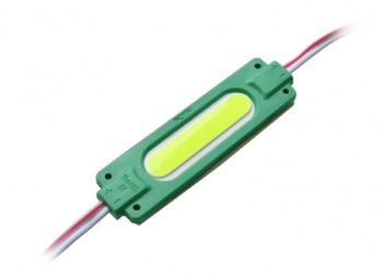Світлодіодний модуль AVT COB 1 led 2W 12В, IP65 зелений