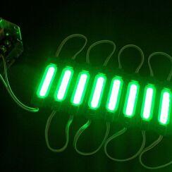 Світлодіодний модуль AVT COB 1 led 2W 12В, IP65 зелений. Фото 2