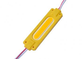 Светодиодный модуль AVT COB 1 led 2W 12В, IP65 желтый