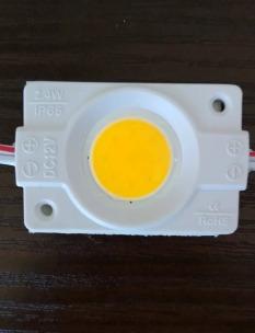 Светодиодный модуль AVT COB W 2,4W 3000K, 12В, IP65 теплый белый