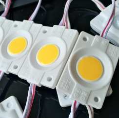 Светодиодный модуль AVT COB W 2,4W 3000K, 12В, IP65 теплый белый. Фото 2