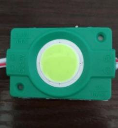 Світлодіодний модуль Biom COB 2,4W, 12В, IP65 зелений