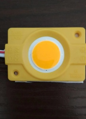 Светодиодный модуль Biom COB 2,4W, 12В, IP65 желтый