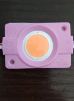 Світлодіодний модуль Biom COB 2,4W, 12В, IP65 рожевий